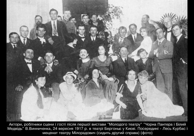 100 років із відкриття Молодого театру