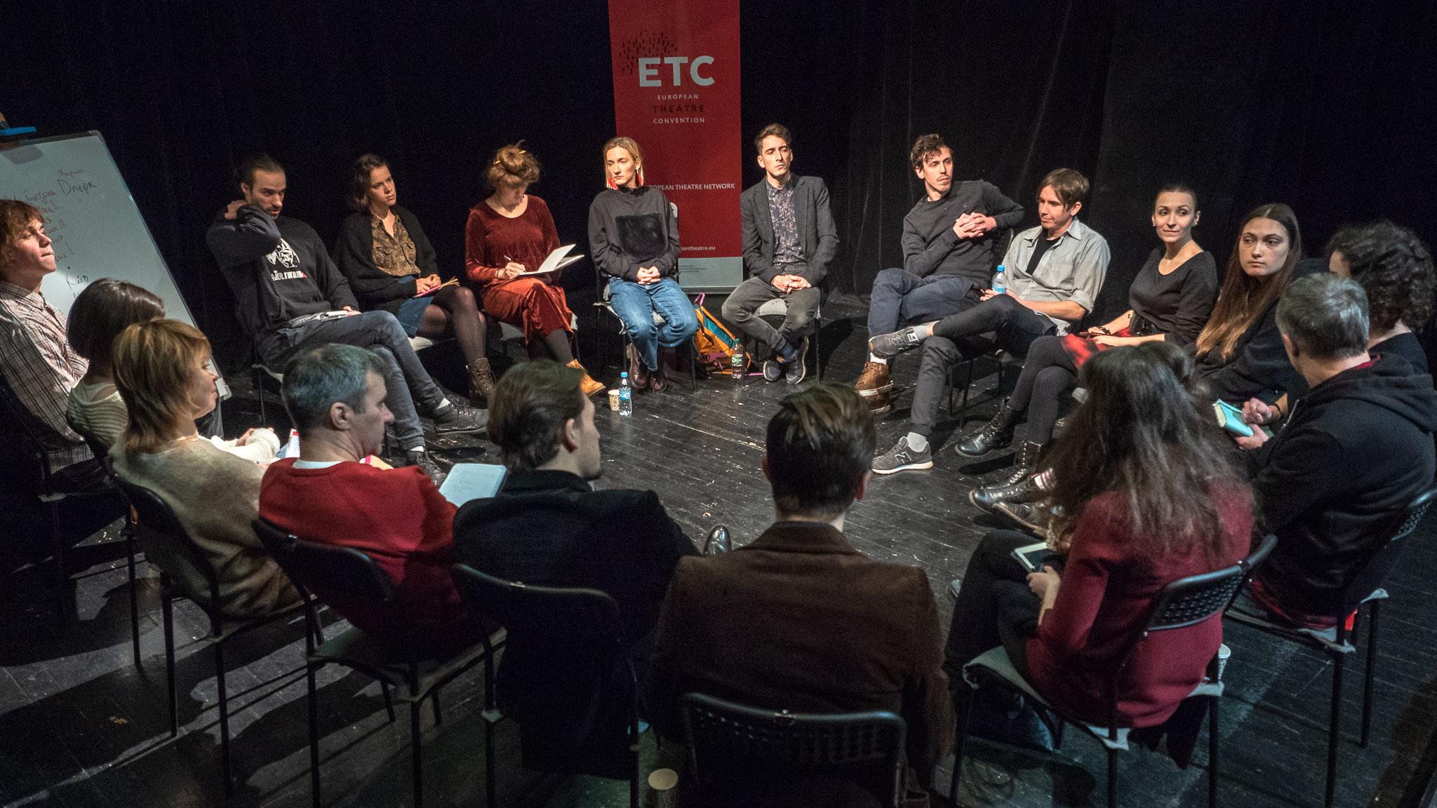 Проект Європейської театральної конвенції в Україні